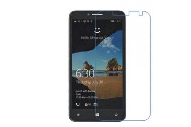 Фирменная оригинальная защитная пленка для телефона Alcatel One Touch Fierce XL 5054D / POP 3 5054D  глянцевая