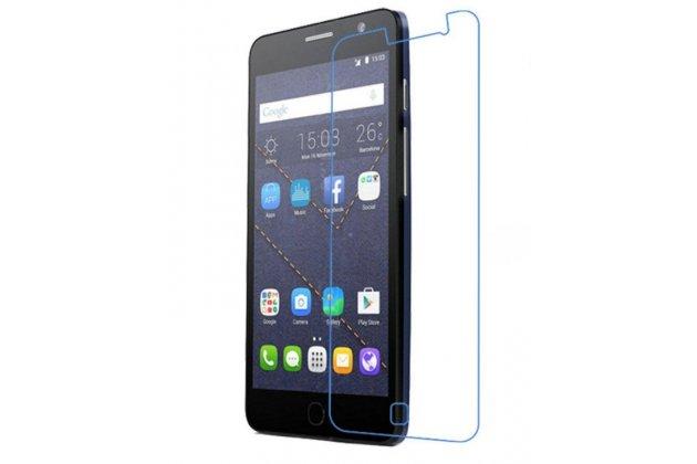 Фирменная оригинальная защитная пленка для телефона Alcatel One Touch POP STAR 5022D  глянцевая