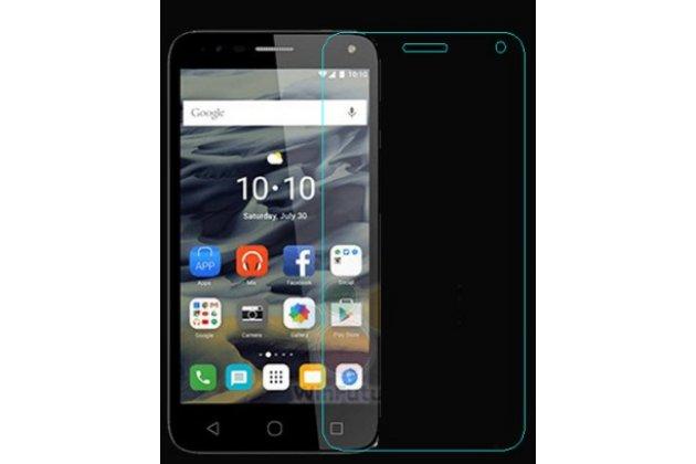 Фирменная оригинальная защитная пленка для телефона  Alcatel POP 4 5051D/X 5.0глянцевая