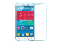 """Фирменная оригинальная защитная пленка для телефона  Alcatel POP 4 Plus 5056D 5.5"""" глянцевая"""