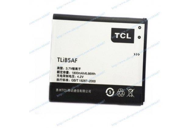 Фирменная аккумуляторная батарея 1800mAh на телефон Alcatel POP C5 5036D / 5036X  (TLIB5AF)
