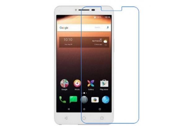Фирменная оригинальная защитная пленка для телефона Alcatel A3 XL 9008D/9008X глянцевая