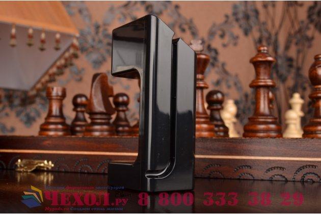 Фирменное зарядное устройство/док-станция/подставка для умных смарт-часов Apple Watch пластиковая черная