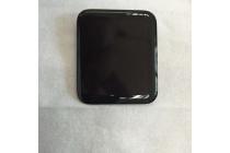 Фирменный LCD-ЖК-сенсорный дисплей-экран-стекло на телефон Apple Watch 42mm черный + гарантия