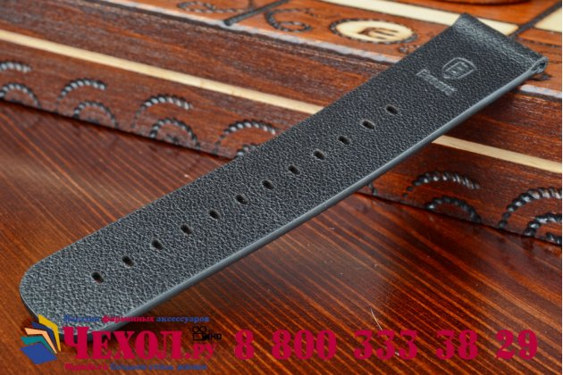 Фирменный сменный кожаный ремешок для умных смарт-часов Apple Watch 42mm из качественной импортной кожи + инструменты для вскрытия