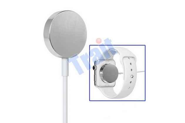 Фирменное магнитное беспроводное зарядное устройство от сети/USB кабель для умных смарт-часов Apple Watch  + гарантия