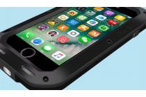 """Неубиваемый водостойкий противоударный водонепроницаемый грязестойкий влагозащитный ударопрочный фирменный чехол-бампер для Iphone 7 Plus 5.5""""/iPhone 8 Plus цельно-металлический со стеклом Gorilla Glass"""