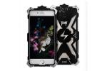 Противоударный усиленный ударопрочный фирменный чехол-бампер на металлической основе для iPhone 7 4.7 / iPhone 8 / iPhone SE 2 (2020) черного цвета