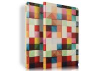 "Фирменный необычный чехол для  iPad Pro 12.9"" ""тематика яркая Мозаика"""
