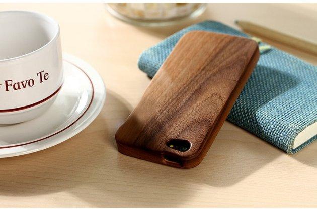 Фирменная оригинальная деревянная из натурального бамбука задняя панель-крышка-накладка для iPhone 4/4S