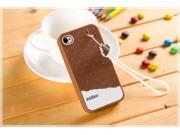 Фирменная необычная уникальная полимерная мягкая задняя панель-чехол-накладка для iPhone 4/4S