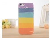 Фирменная необычная из легчайшего и тончайшего пластика задняя панель-чехол-накладка для iPhone 4/4S