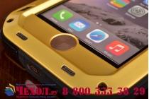 """Неубиваемый водостойкий противоударный водонепроницаемый грязестойкий влагозащитный ударопрочный фирменный чехол-бампер для iPhone 6 4.7"""" цельно-металлический со стеклом Gorilla Glass"""
