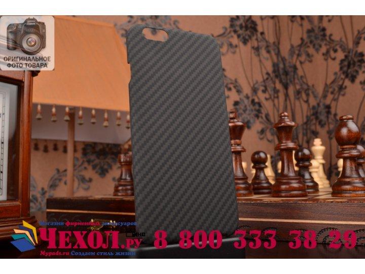 Задняя противоударная неубиваемая панель-крышка из высокопрочного карбона для iPhone 6 4.7