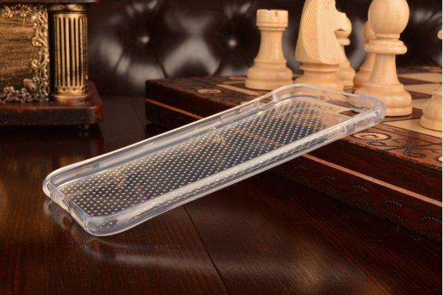 """Фирменная ультра-тонкая из мягкого качественного силикона задняя панель-чехол-накладка для iPhone 6+ Plus 5.5"""" прозрачная"""