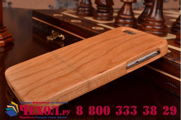 """Фирменная оригинальная задняя панель-крышка-накладка с дизайном под дерево  для iPhone 6 4.7"""""""