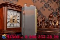 """Ультра-тонкий чехол с объемным металлическим изображением орла из импортной кожи для iPhone 6 4.7"""" золотой"""