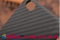 Задняя противоударная неубиваемая панель-крышка из высокопрочного карбона для iPhone 6S черная