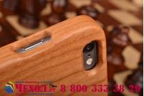 Фирменная оригинальная деревянная бамбуковая задняя панель-крышка-накладка для iPhone 6S