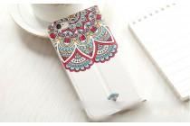 """Ультра-тонкий чехол с объемным металлизированным изображением """"Эклектические узоры"""" для iPhone 6S черный"""
