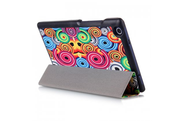 "Фирменный необычный чехол для iPad Pro 9.7""  ""тематика Завитушки"""