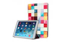 "Фирменный необычный чехол для  iPad Pro 9.7"" ""тематика яркая Мозаика"""
