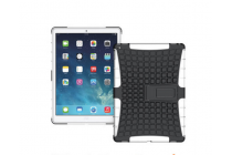 """Противоударный усиленный ударопрочный фирменный чехол-бампер-пенал для  iPad Pro 9.7"""" белый"""