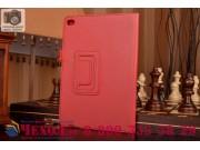 Чехол закрытого типа из мягкой кожи для iPad Mini 4 красный..