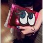 Чехол-обложка для iPad Mini розовый с блестками и большими глазами