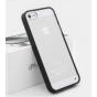 Фирменная ультра-тонкая полимерная задняя панель-чехол-накладка из силикона для Apple iPhone 5/ SE/ 5SE  прозр..