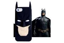 """Фирменная задняя панель-чехол-накладка с объёмным 3D изображением для iPhone 5/5S/5SE/SE  """"тематика Бетмен"""" черная"""