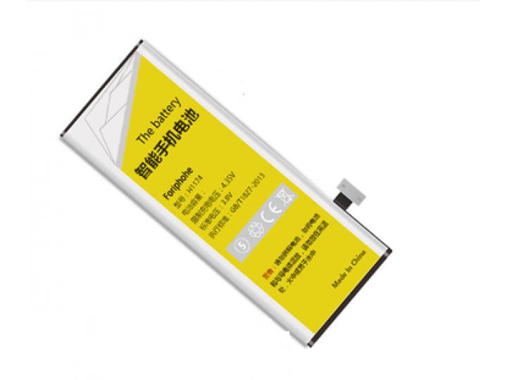 Усиленная батарея-аккумулятор большой повышенной ёмкости 2850mAh для телефона iPhone 6 / 6G 4.7 + гарантия..