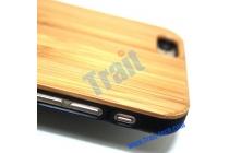 Фирменная оригинальная деревянная бамбуковая задняя панель-крышка-накладка для iPhone 6S Plus