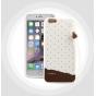 Фирменная необычная уникальная полимерная мягкая задняя панель-чехол-накладка для iPhone 6S Plus