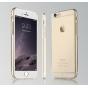 Фирменная задняя панель-крышка-накладка из тончайшего и прочного пластика для iPhone 6S Plus прозрачная..