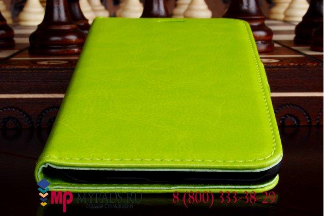 Чехол-книжка из качественной импортной кожи для iPhone 6 plus 5.5 дюймов кислотный