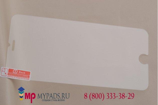 Фирменное защитное закалённое противоударное стекло премиум-класса из качественного японского материала с олеофобным покрытием для iPhone 6 Plus