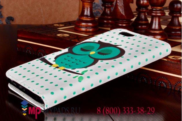 """Уникальный необычный чехол-книжка для iPhone 6S Plus  """"тематика Сова"""""""