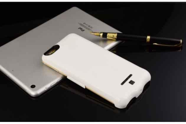 """Чехол-бампер со встроенной усиленной мощной батарей-аккумулятором большой повышенной расширенной ёмкости 2750mAh для iPhone 6 / iPhone 6S  4.7"""" белый + гарантия"""