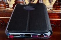 """Чехол с мультяшной 2D графикой и функцией засыпания для iPhone 6 / iPhone 6S 4.7"""" в точечку с дырочками прорезиненный с перфорацией черный"""