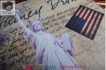 "Чехол-футляр для iPad Air 2 ""тематика Статуя свободы США"" кожаный"
