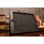 Фирменный чехол-сумка для iPad Air 2 черный кожаный..
