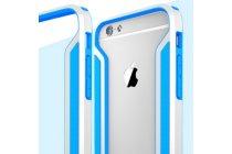 Фирменный оригинальный чехол-бампер для iPhone 6S голубой усиленный противоударный