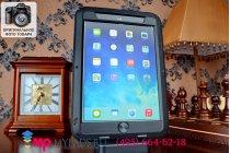 Неубиваемый водостойкий противоударный водонепроницаемый грязестойкий влагозащитный ударопрочный фирменный чехол-бампер для iPad Mini 2 Retina/iPad Mini 3 цельно-металлический со стеклом Gorilla Glass