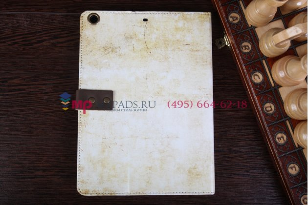 "Чехол для iPad Air 1 MD794/791/795/792785/788789796/793/987 RU/A ""тематика знаки зодиака Рак"" винтажный белый"