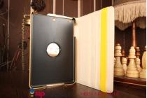 Эксклюзивный чехол обложка футляр для iPad Mini 3 MGHV2RU кожа крокодила золотой. Только в нашем магазине. Количество ограничено
