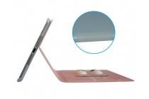 """Уникальный чехол-книжка для iPad Mini 1/2/3 retina """"тематика Глаза"""" розовый с глазами"""