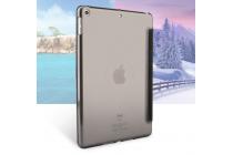 """Элитный умный чехол с подставкой """"Оригами"""" для iPad Pro 10.5 натуральная кожа """"Luxury"""" Италия черный"""