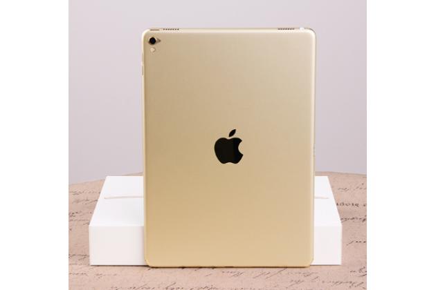 Фирменная оригинальная защитная пленка-наклейка на твёрдой основе, которая не увеличивает в размерах для iPad Pro 10.5 золотая