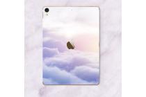 Фирменная оригинальная защитная пленка-наклейка с рисунком на твёрдой основе, которая не увеличивает  в размерах для iPad Pro 10.5 тематика Безмятежность